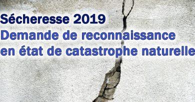 Dossier de reconnaissance de catastrophe naturelle