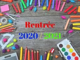 Inscriptions Ecole 2020 -2021