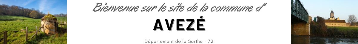Commune d'Avezé, Sarthe, 72